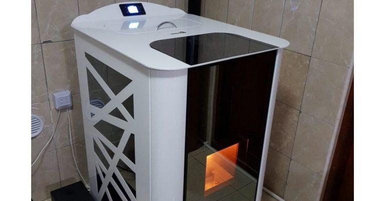 Curios să afli cum arată un termoșemineu gata instalat?